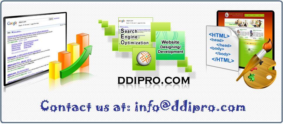 Website SEM SMO SEO Services by ddipro.com
